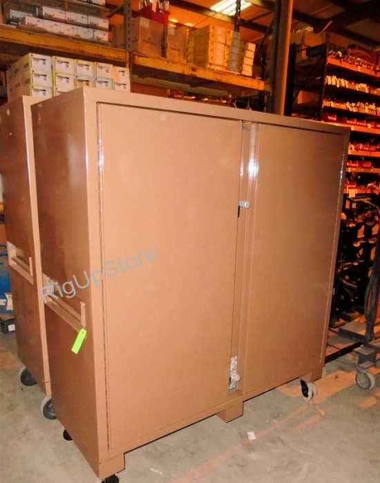 KNAACK 109 JOBMASTER 60 X 24 X 57 STORAGE JOB BOX RECONDITIONED NO CASTERS