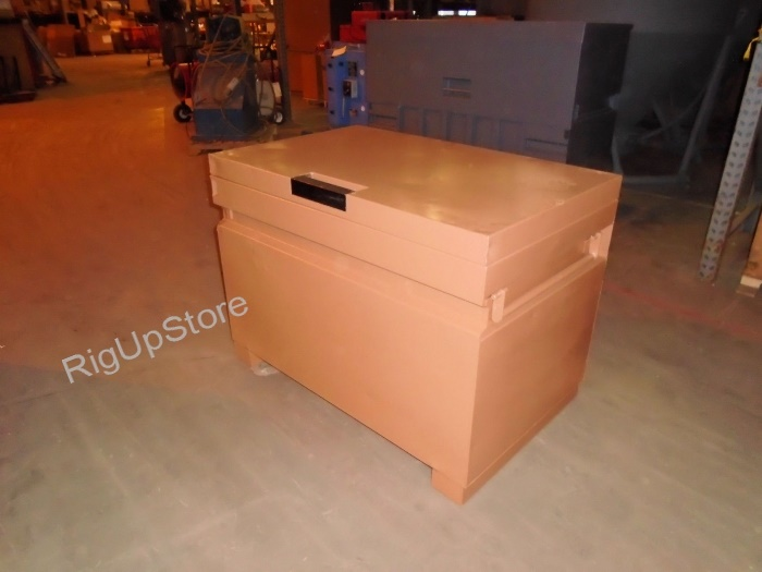 KNAACK 4830 JOBMASTER STORAGE CHEST GANG BOX 48`` X 30`` X 34-1/2`` RECONDITIONED