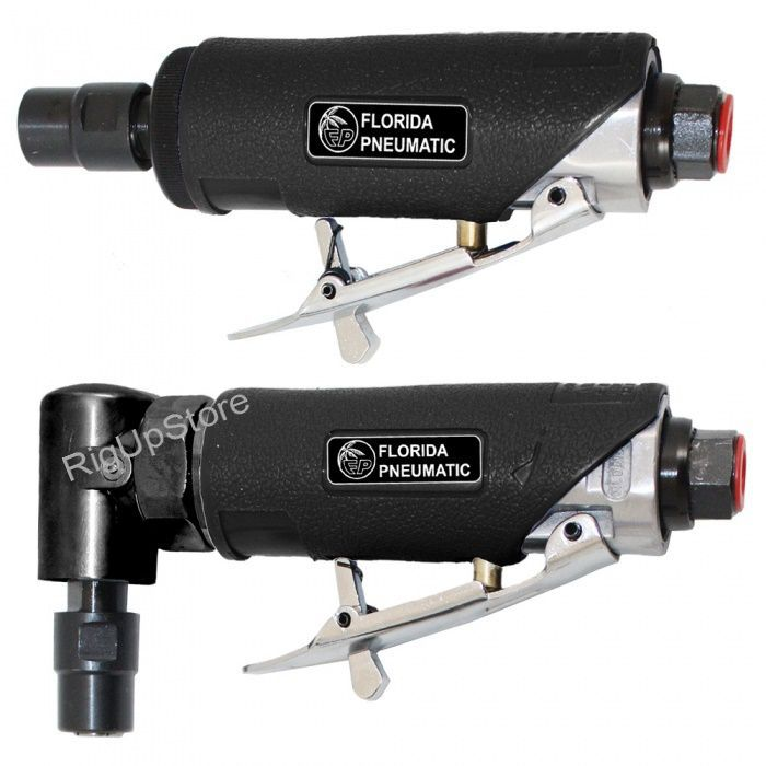 Florida Pneumatic 1/4 Inch Air Die Grinder Combo Kit
