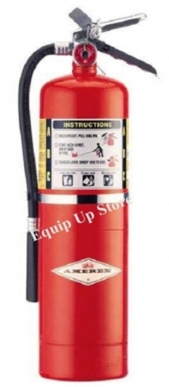AMEREX Brass Valve Multi-Purpose Dry Chemical Extinguisher