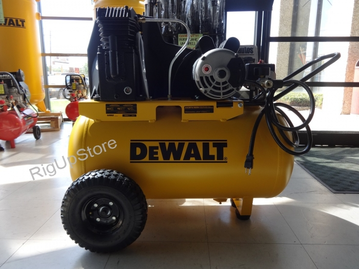 DEWALT 20 GALLON AIR COMPRESSOR