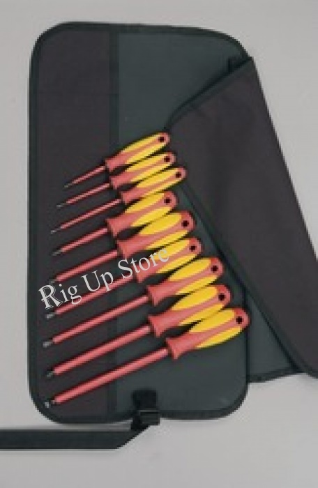 MAXXPRO®plus Screwdriver Set, Insulated, Phillips  Slotted, 9pc