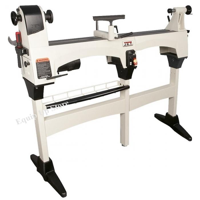 JET JWL-1221VS 10`` x 15`` Variable Speed Wood Lathe